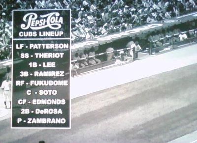 1948 Cubs lineup