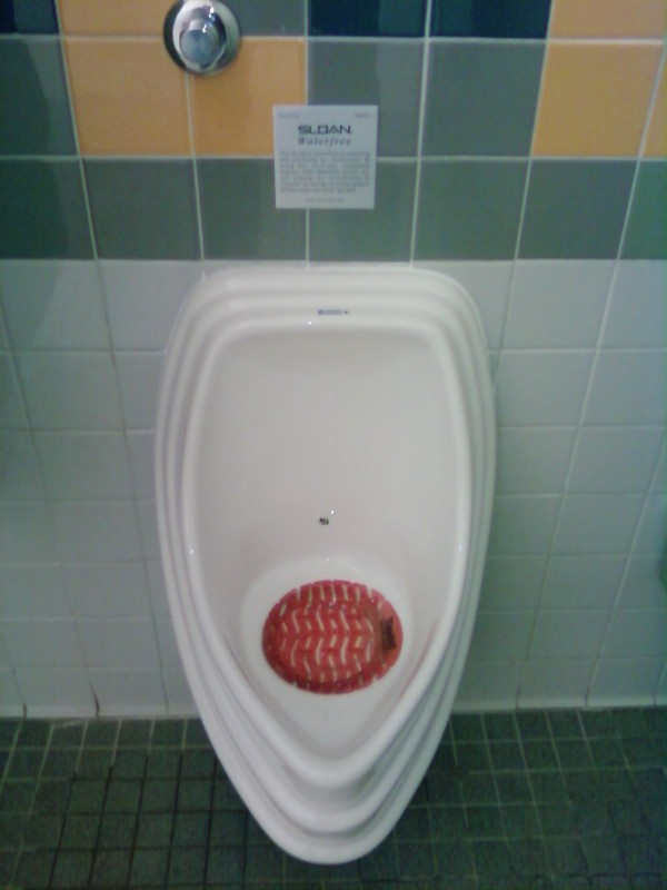 Waterfree urinal
