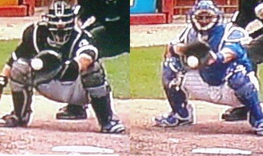 One called a ball, one called a strike